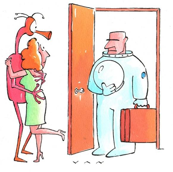 Cartoon by Alex Vannini