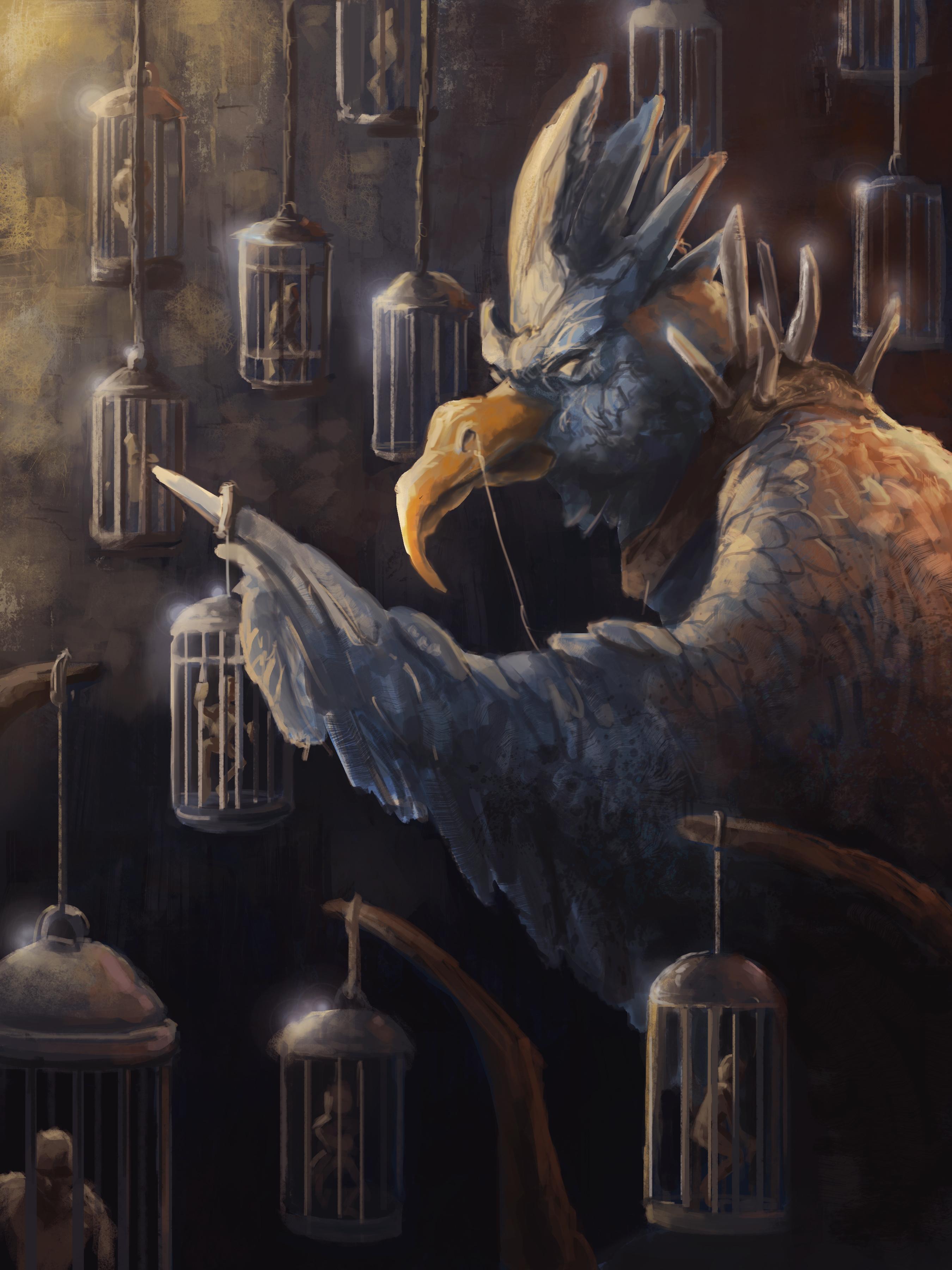 birdemon by Tex McCranie